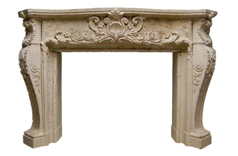 Ornate Fireplace Surrounds ornate louis xiv fireplace mantel mantel mt1010