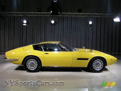 yellow maserati ghibli 1967 maserati ghibli in yellow photo 19 154732
