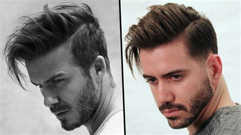 hairstyles 2017 tutorial david beckham hairstyle tutorial how to style s hair