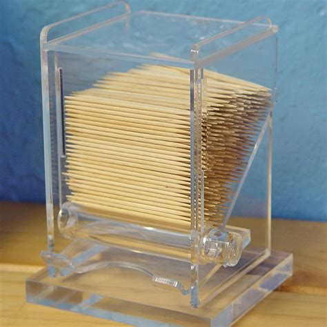 Toothpick Dispenser | acrylic toothpick dispenser