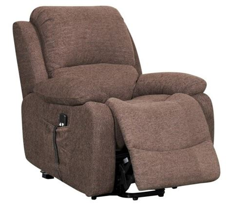 Motorised Recliner Armchairs by New Bonita Single Motor Electric Rise Recline Riser
