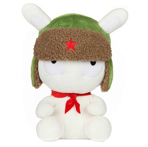 Plush Boneka Rabbit plush boneka xiaomi mi bunny sitting version white