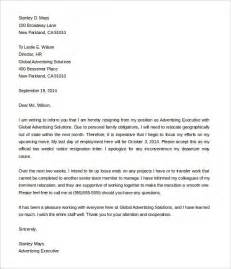 How To Write A Notice Resignation Letter by Sle Resignation Letter 2 Week Notice Best Business Template