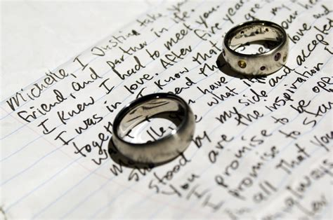 Wedding Vows For by 6 Steps To Writing The Personalized Vows
