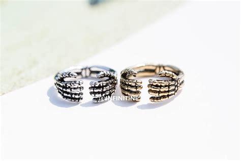 bone adjustable ring rings rings unique