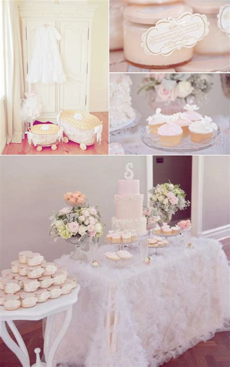 Decoration For Christening Baby by Vintage Pink Christening Baptism Planning Ideas