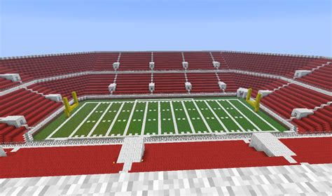minecraft sports stadium minecraft football stadium minecraft project