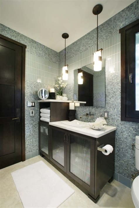 bathroom fixture ideas 40 blue glass mosaic bathroom tiles tile ideas and pictures