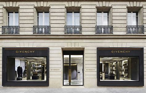 home design stores paris givenchy store in paris by joseph dirand yellowtrace