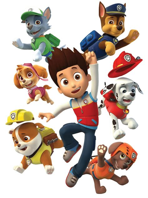 pow patrol ryder and his dogs paw patrol clipart png