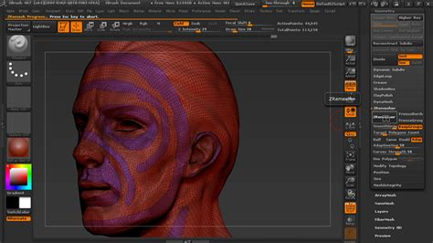 zbrush tutorial lynda managing edge flow in zbrush
