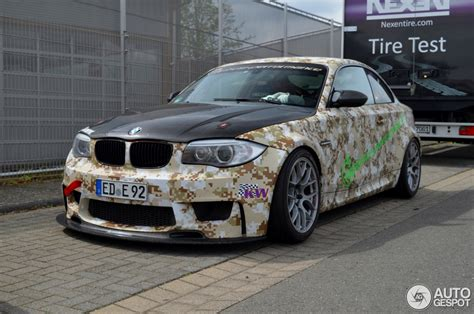 Bmw 1er M Coupe Liberty Walk by Bmw Laptime Performance 1 Series M Coup 233 2 Mai 2015
