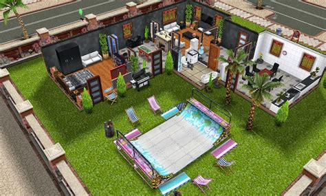 Sims 3 Mansion Floor Plans Pro Skater S Dream Pad The Sims Freeplay Wiki Fandom