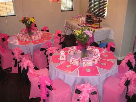 table decoration ideas for birthday party february 2011 themes for kids party rental