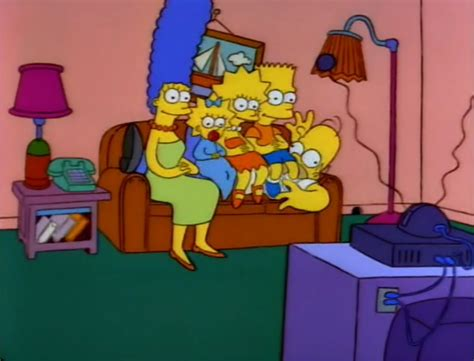 homer simpson couch lying down homer couch gag simpsons wiki