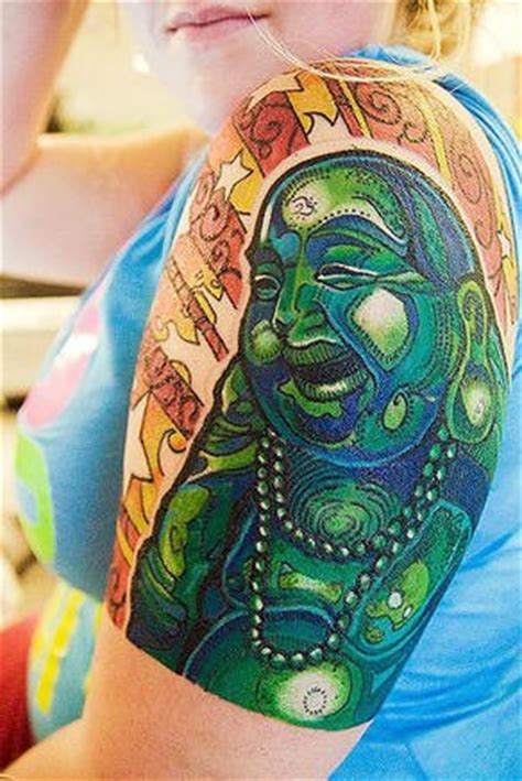 tattoo on arm fat buddha tattoos and designs page 54