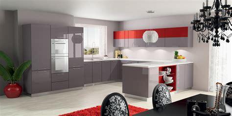Cream Gloss Kitchen Ideas High Gloss Kitchen Cabinets Decosee Com