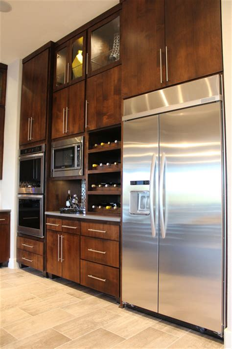 Modern Kitchen Cabinets Doors Modern Slab Flat Panel Cabinet Door Kitchen By Burrows