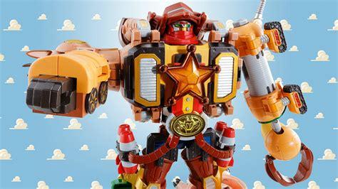 Robot Woody Story need story megazord power now bandai s got you nerdist
