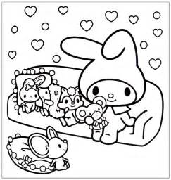 my melody coloring free coloring pages on art coloring pages