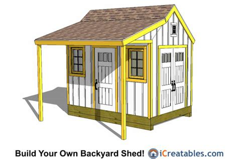 shed plans buy easy  build modern shed designs
