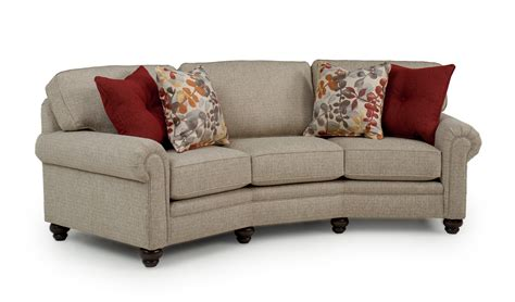 curved conversation sofa conversation sofas review saugerties furniture mart