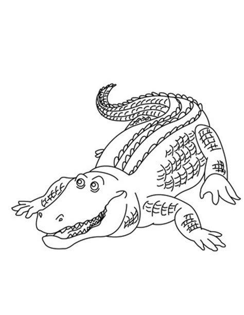 alligator gar coloring page aligator mask colouring pages