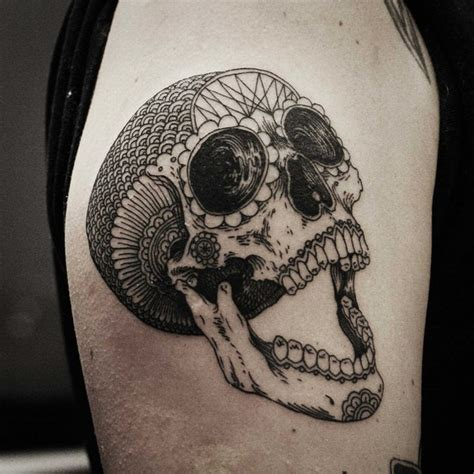 latin skulls tattoo skull retro