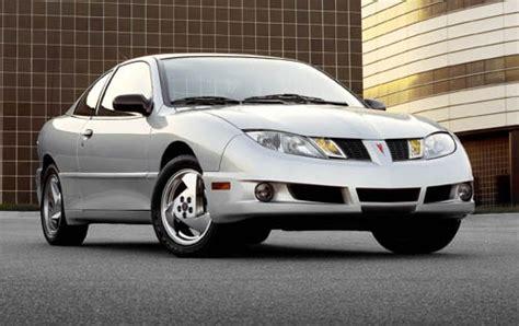 accident recorder 2003 pontiac sunfire transmission control used 2003 pontiac sunfire coupe pricing for sale edmunds