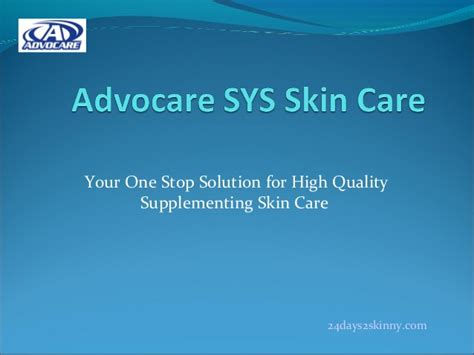 Shin Ju Skin Care Solution For Your Skin 0q93 advocare s new supplement your skin skin care