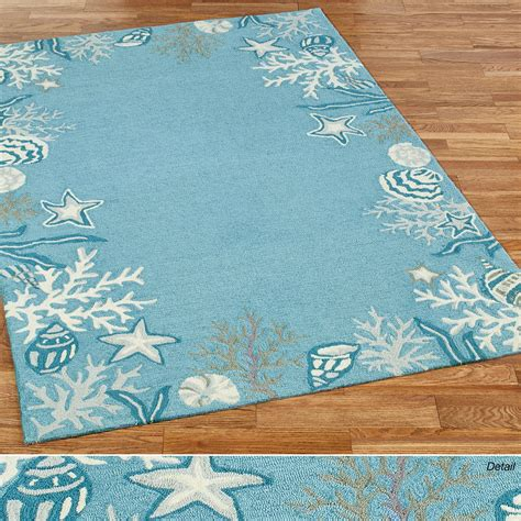 Themed Rugs briny blue themed area rugs