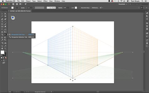 reset perspective tool illustrator how to draw your art in perspective using adobe