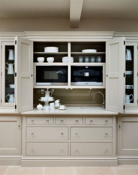 t14 kitchen island unit with hidden microwave cupboard the house directory blog martin moore s new notting hill