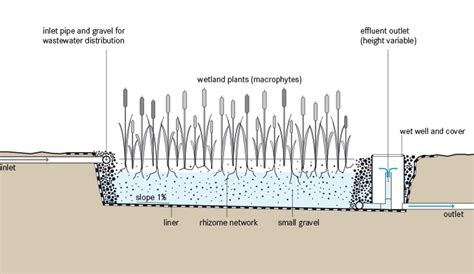 design criteria for constructed wetlands horizontal subsurface flow cw sswm