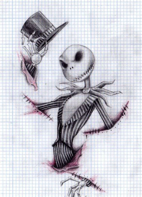 jack the pumpkin king tattoo designs skellington sketch skeleton in 2019