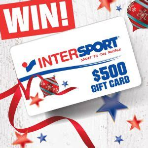 Email Gift Cards Australia - intersport australia win a 500 intersport australia gift australian