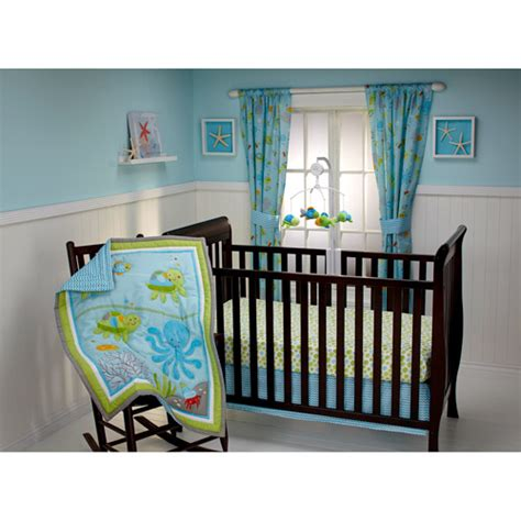 nojo crib bedding little bedding by nojo ocean dreams 3 piece crib bedding