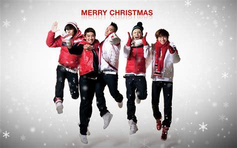 christmas kpop wallpaper bigbang big bang christmas hd wallpaper of korean
