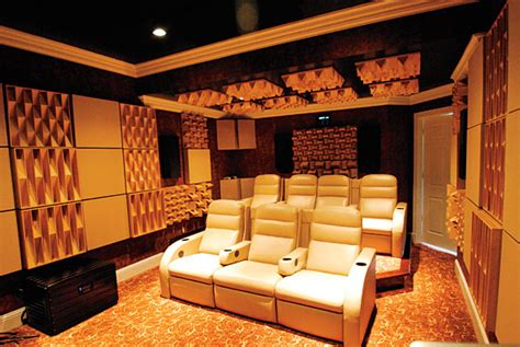 sound absorbing diffusers home theater noise control