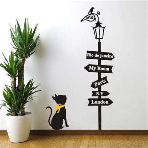 home wall decor online aliexpress com comprar 8333 1 5 precioso gato bajo la