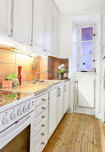 small narrow kitchen ideas small apartment of 25 square meters home decorating