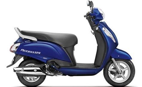 Suzuki Access 125 Colours Suzuki Access 125 In Pearl Mirage White Color Suzuki