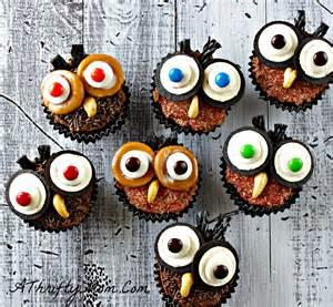 Cute Halloween Cupcake Decorating Ideas Halloween Cupcakes Cute Cupcake Ideas Owl Cupcakes How