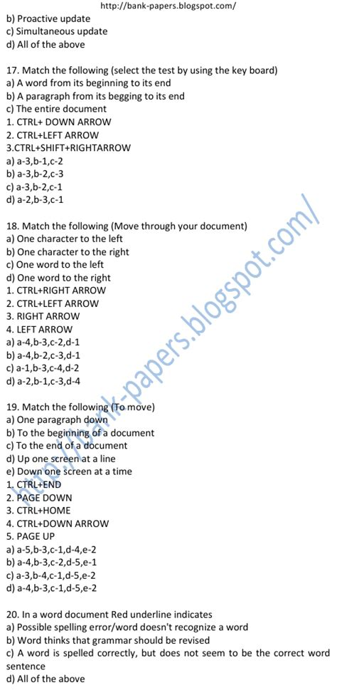 study material for bank po bank computer question papers