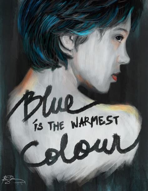 artwork blue is the warmest color