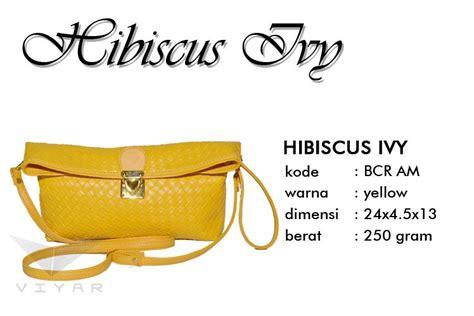 Tas Wanita Branded Selempang Cewek Lucu Anyam Clutch Snake dompet clutch hibiscus am modis buatan tangan asli bogor