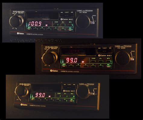 1980 1981 Audio Radios And Audio classic autoradio clarion 1980