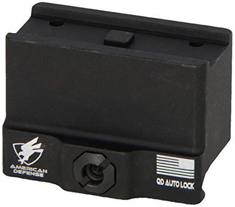 american defense ad t1 11 std aimpoint micro mount 1 3rd