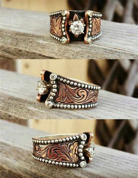 25 best ideas about western wedding rings on