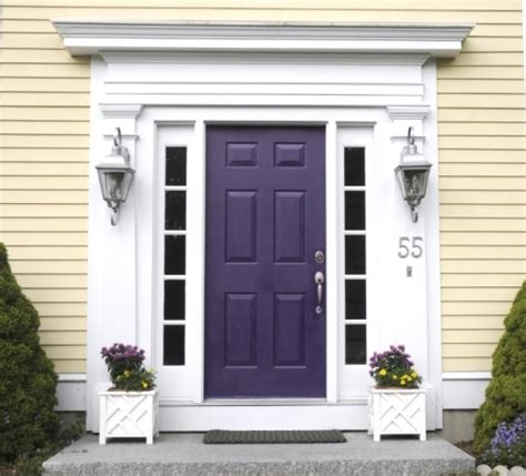 Purple Front Door Paint Colors Purple Front Doors Purple Front Door Holt Interiors Purple Front Door Ideas